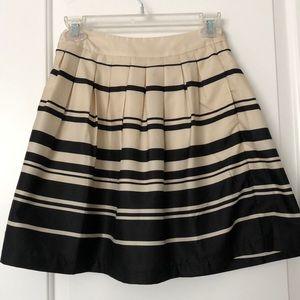 Francesca's striped skirt
